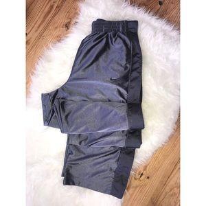 Nike - Tear Away Sweatpants {Heather Gray & Gray}